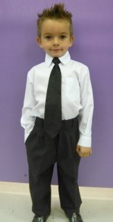 Boys Formal Pants