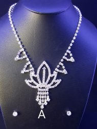 Diamonte Necklace and Earing Set NS7