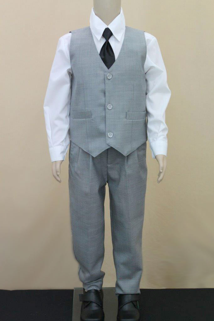 Grey Paisley of London Boys 3 Piece suit. Excellent condition. Size 14 yrs.