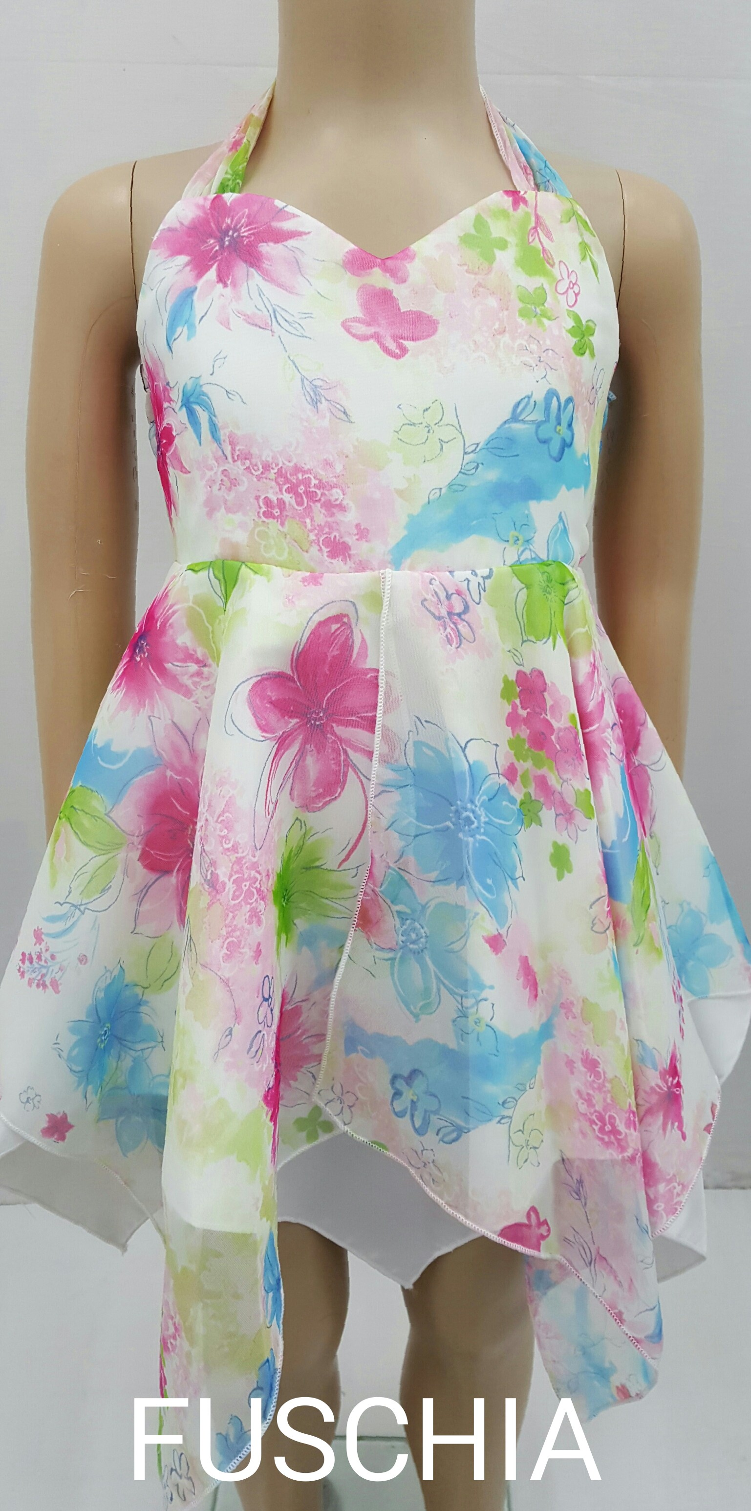 Halter Neck Dress Gd19 Gd19 12 00 Girls Dresses And