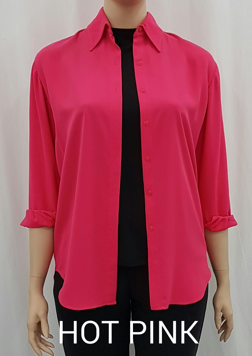 Ladies York Shirt LS1399