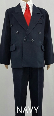 Boys Double Breasted Suit BSS03
