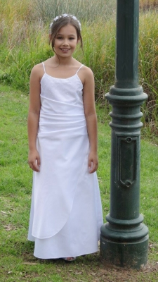 Ms K Communion Dress