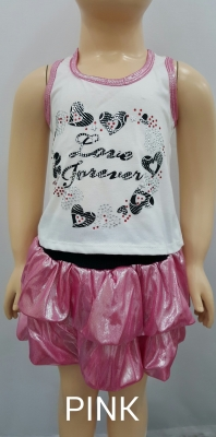 Girls Set (Skirt and Top) GS50