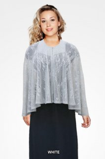 Ladies Silver Cape 1299