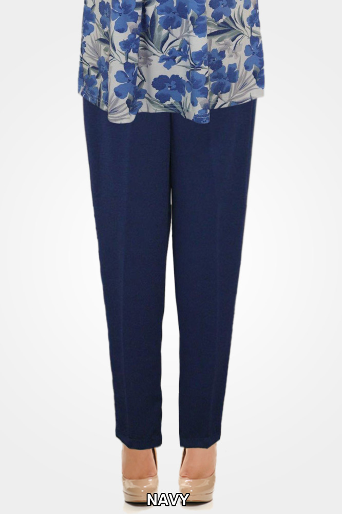Ladies Navy Pants 1309