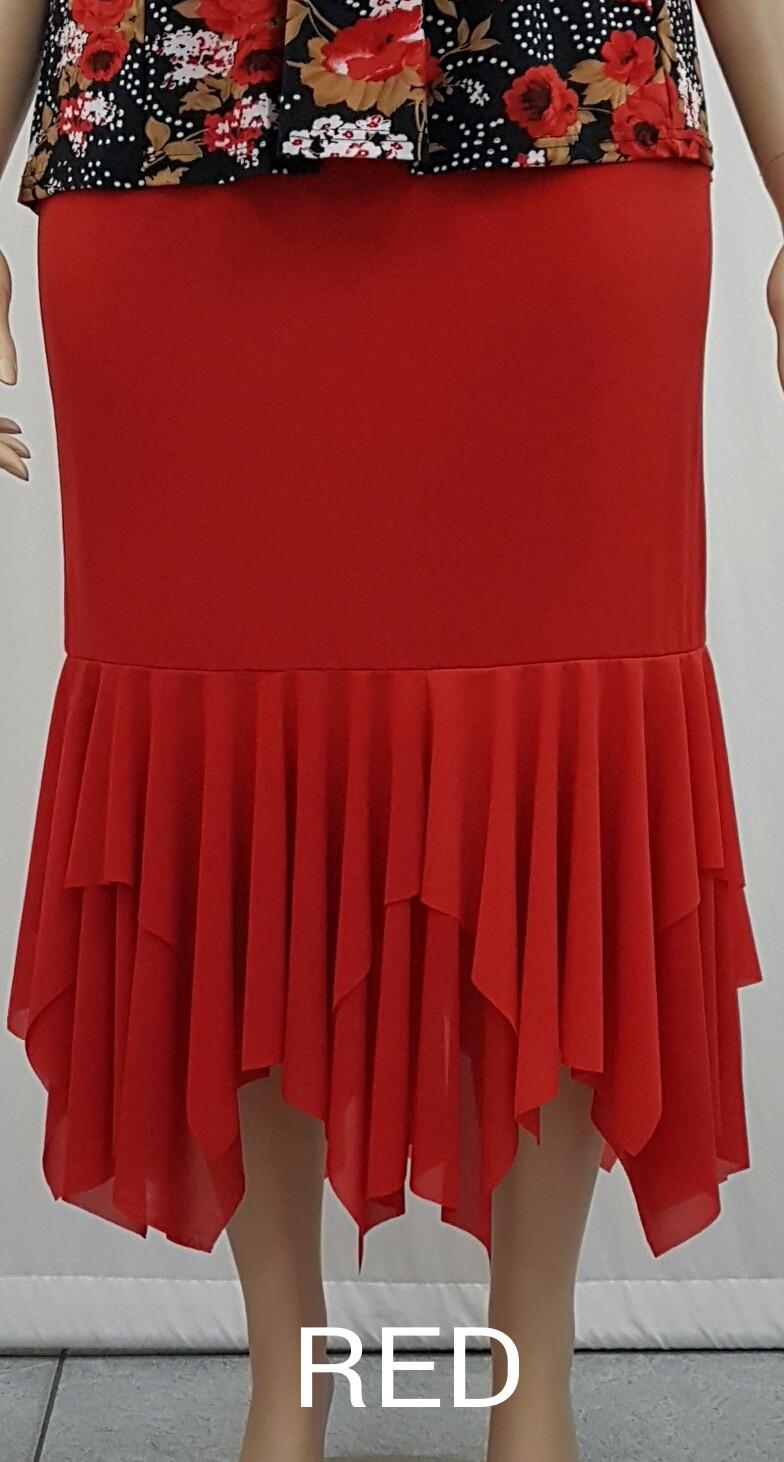 Ladies Skirt 1249 Lsk1249 20 00 Plus Size Clothing
